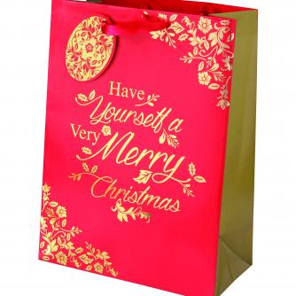 Rich Traditions Large Bag Cancer Research uk Christmas Bag