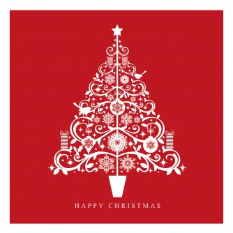 stunning tree cancer research uk christmas card