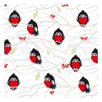 tiny robins cancer research uk christmas card